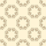 Seamless pattern with oriental ornament