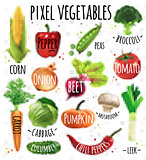 Pixel vegetables