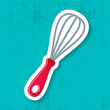Vector whisk icon