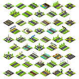 City Map Set 02 Tiles Isometric