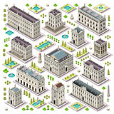 City Map Set 06 Tiles Isometric