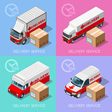 Delivery 07 Infographic Isometric
