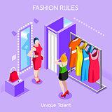 Fashion Moods 01 People Isometric