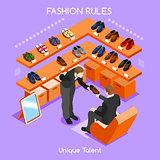 Fashion Moods 02 People Isometric