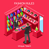 Fashion Moods 03 People Isometric
