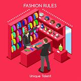 Fashion Moods 03 People Isometric
