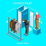 Fashion Moods 04 People Isometric