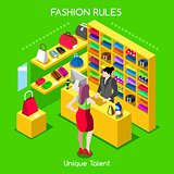 Fashion Moods 05 People Isometric