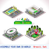 Game Set 08 Building Isometric