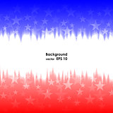 Presidents day background united states stars