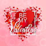 Happy valentines day and weeding background