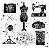 Sewing symbol vintage
