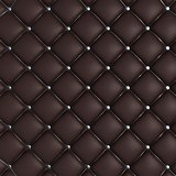 Quilted Leather Background