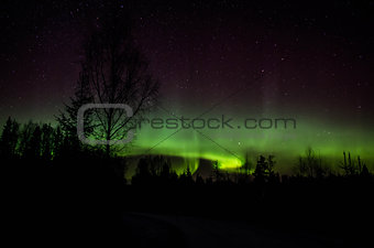 Aurora borealis, norhtern light