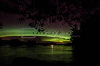 Aurora borealis, norhtern light