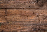 Rustic brown wood background