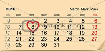 2016 March 8 International Womens Day