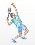 Tennis, player, abstraction