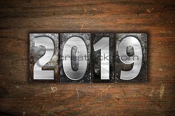 2019 Concept Metal Letterpress Type