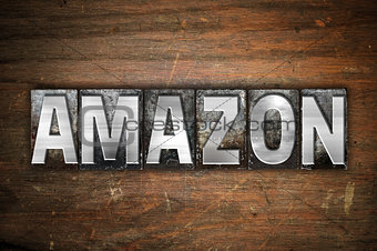Amazon Concept Metal Letterpress Type