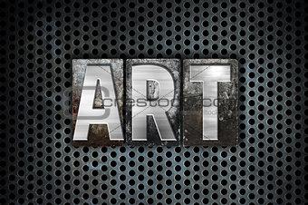 Art Concept Metal Letterpress Type