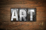 Art Concept Metal Letterpress Type