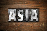 Asia Concept Metal Letterpress Type