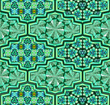 Arabic ornamental tiles