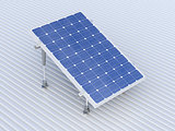 Solar panel conceptual illustration