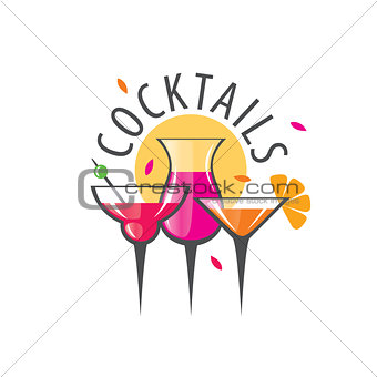 alcoholic cocktails logo