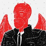 Vector Devil in a Business Suit