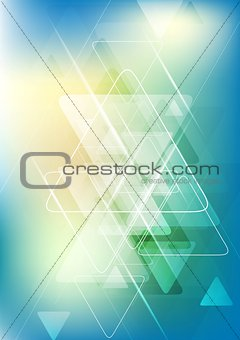 Bright tech corporate abstract background