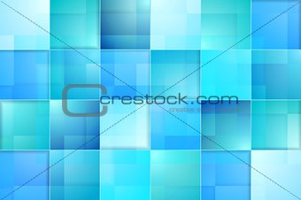 Abstract bright blue tech background