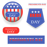Presidents Day Icons