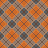 Diagonal seamless pattern in dim hues