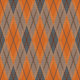 Rhombic seamless pattern in dim hues