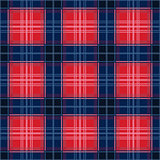 Rectangular seamless pattern in red and blue