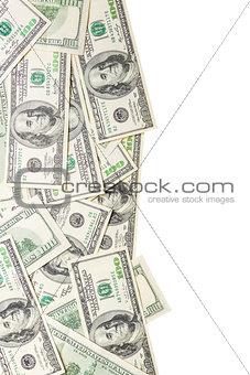 Frame from dollars