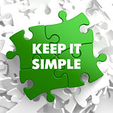 Keep it Simple on Green Puzzle.