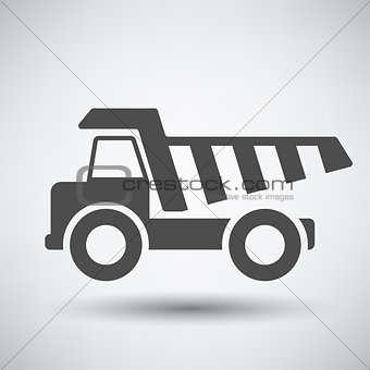 Tipper car  icon