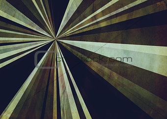 Grunge Abstractive Rays Background