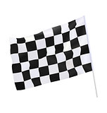 Finish flag for racing car