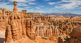 Hoodoos in the Amphitheater in Bryce Canyon