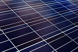 surface of the a solar panel closeup