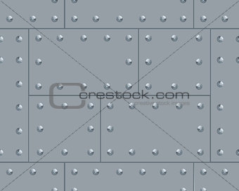 Grey metalic pattern