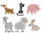 Six pets set