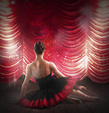 Ballerina at theater