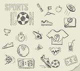 soccer doodles