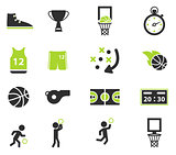Basketball simply icons