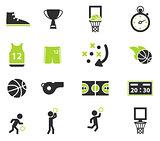Basketball simply icons
